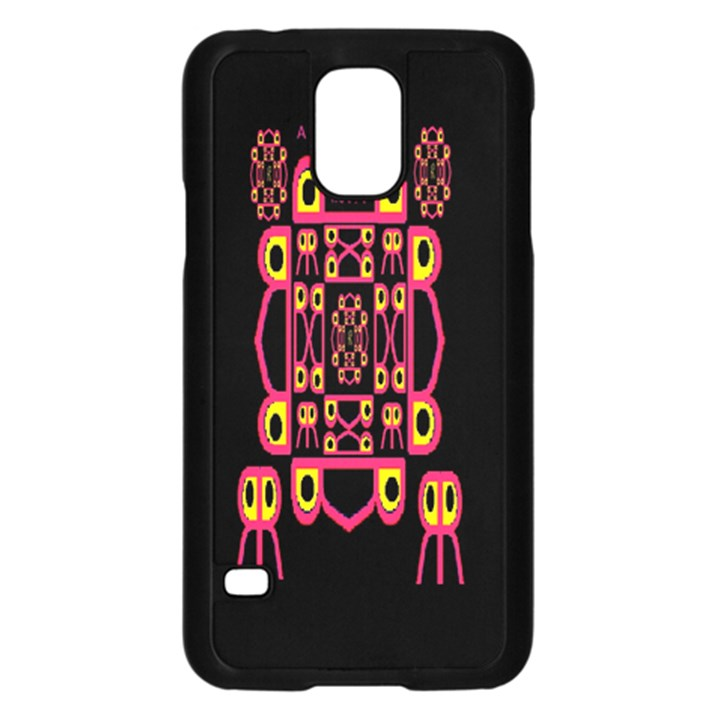 Alphabet Shirt Samsung Galaxy S5 Case (Black)