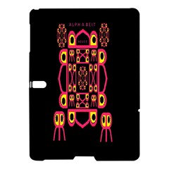 Alphabet Shirt Samsung Galaxy Tab S (10 5 ) Hardshell Case  by MRTACPANS