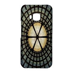 Stained Glass Colorful Glass HTC One M9 Hardshell Case by Zeze