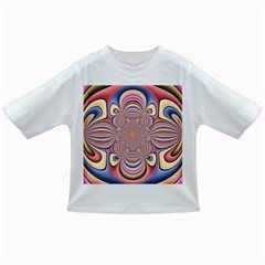 Pastel Shades Ornamental Flower Infant/toddler T Shirts