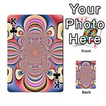 Pastel Shades Ornamental Flower Playing Cards 54 Designs  Front - ClubK