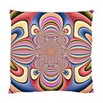 Pastel Shades Ornamental Flower Standard Cushion Case (One Side) Front