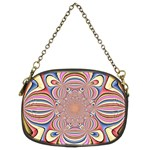 Pastel Shades Ornamental Flower Chain Purses (Two Sides)  Back