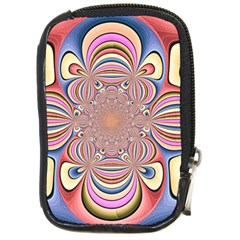 Pastel Shades Ornamental Flower Compact Camera Cases