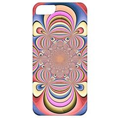 Pastel Shades Ornamental Flower Apple iPhone 5 Classic Hardshell Case