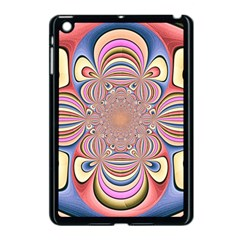Pastel Shades Ornamental Flower Apple Ipad Mini Case (black) by designworld65