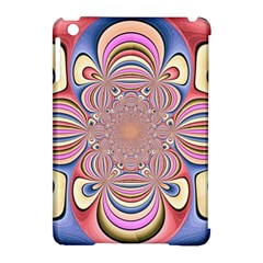 Pastel Shades Ornamental Flower Apple Ipad Mini Hardshell Case (compatible With Smart Cover)