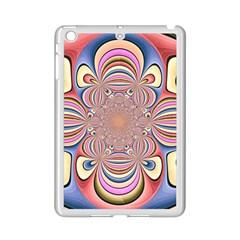 Pastel Shades Ornamental Flower iPad Mini 2 Enamel Coated Cases
