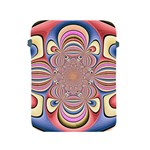 Pastel Shades Ornamental Flower Apple iPad 2/3/4 Protective Soft Cases Front