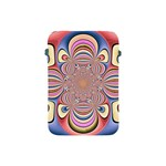Pastel Shades Ornamental Flower Apple iPad Mini Protective Soft Cases Front