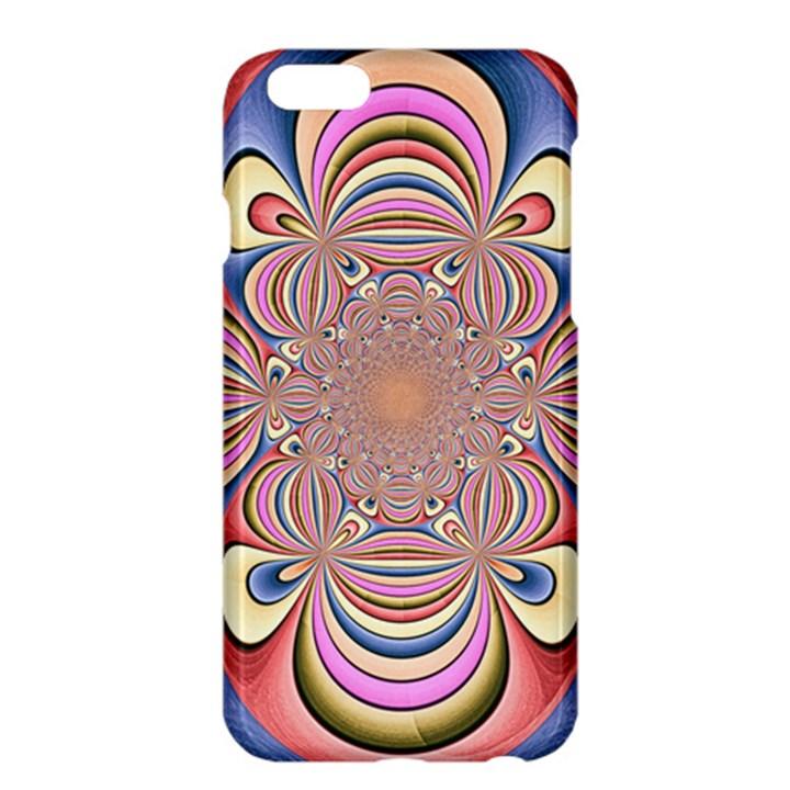 Pastel Shades Ornamental Flower Apple iPhone 6 Plus/6S Plus Hardshell Case