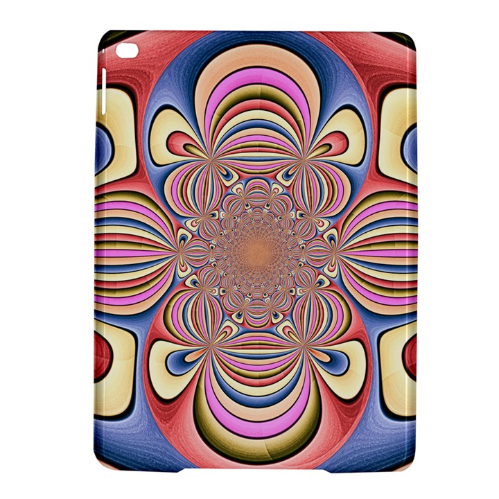 Pastel Shades Ornamental Flower iPad Air 2 Hardshell Cases