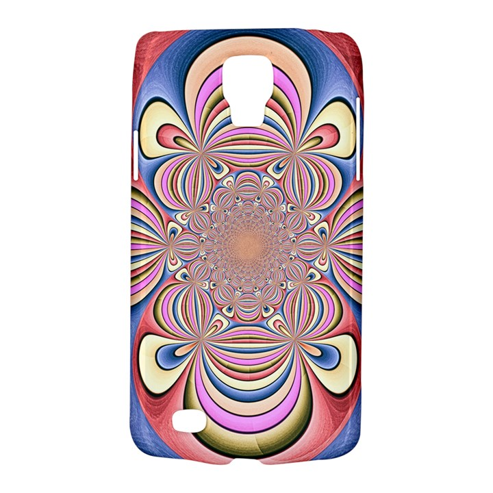 Pastel Shades Ornamental Flower Galaxy S4 Active