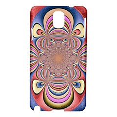 Pastel Shades Ornamental Flower Samsung Galaxy Note 3 N9005 Hardshell Case