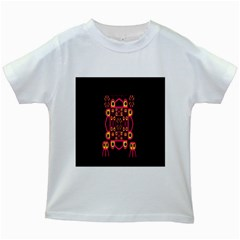 Alphabet Shirt Kids White T Shirts