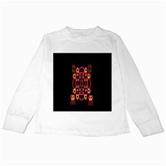 Alphabet Shirt Kids Long Sleeve T Shirts by MRTACPANS