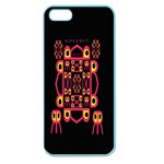 Alphabet Shirt Apple Seamless iPhone 5 Case (Color) Front