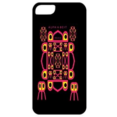 Alphabet Shirt Apple Iphone 5 Classic Hardshell Case