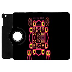 Alphabet Shirt Apple Ipad Mini Flip 360 Case by MRTACPANS
