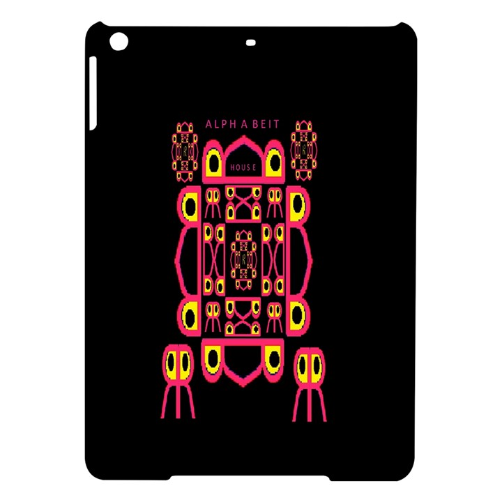 Alphabet Shirt iPad Air Hardshell Cases
