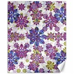 Stylized Floral Ornate Pattern Canvas 16  x 20   20 x16 Canvas - 1
