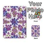 Stylized Floral Ornate Pattern Multi-purpose Cards (Rectangle)  Back 21