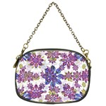 Stylized Floral Ornate Pattern Chain Purses (One Side)  Front