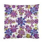 Stylized Floral Ornate Pattern Standard Cushion Case (One Side) Front