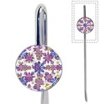 Stylized Floral Ornate Pattern Book Mark Front