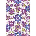 Stylized Floral Ornate Pattern 5.5  x 8.5  Notebooks Front Cover