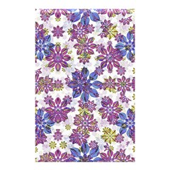 Stylized Floral Ornate Pattern Shower Curtain 48  X 72  (small)