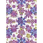 Stylized Floral Ornate Pattern Get Well 3D Greeting Card (7x5) Inside