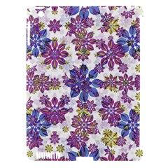 Stylized Floral Ornate Pattern Apple Ipad 3/4 Hardshell Case (compatible With Smart Cover)
