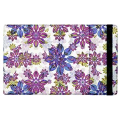 Stylized Floral Ornate Pattern Apple Ipad 3/4 Flip Case