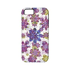 Stylized Floral Ornate Pattern Apple Iphone 5 Classic Hardshell Case (pc+silicone)