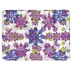 Stylized Floral Ornate Pattern Samsung Galaxy Tab 7  P1000 Flip Case