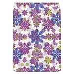 Stylized Floral Ornate Pattern Flap Covers (L)  Front