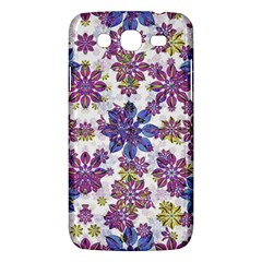 Stylized Floral Ornate Pattern Samsung Galaxy Mega 5 8 I9152 Hardshell Case