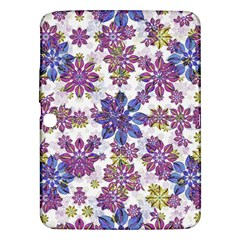 Stylized Floral Ornate Pattern Samsung Galaxy Tab 3 (10 1 ) P5200 Hardshell Case
