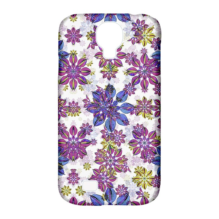 Stylized Floral Ornate Pattern Samsung Galaxy S4 Classic Hardshell Case (PC+Silicone)