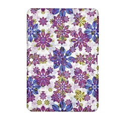 Stylized Floral Ornate Pattern Samsung Galaxy Tab 2 (10 1 ) P5100 Hardshell Case  by dflcprints