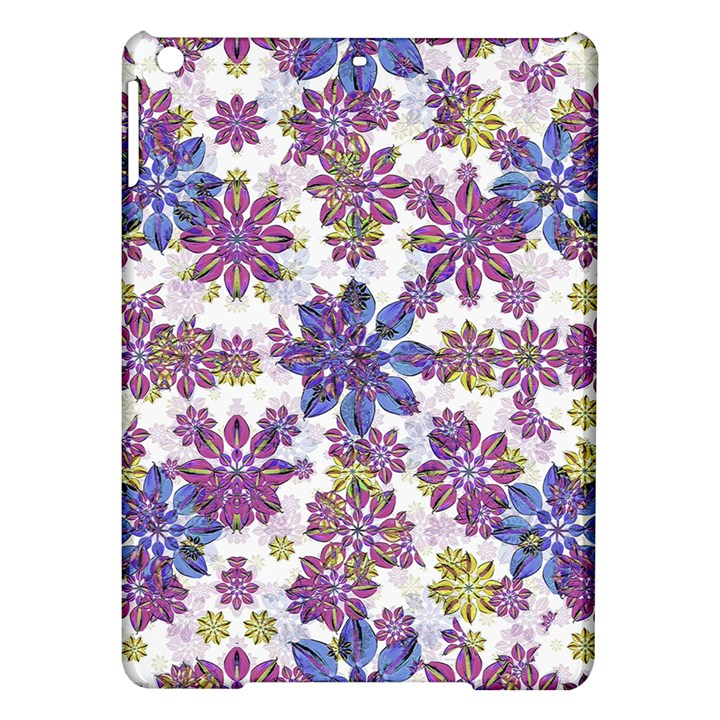 Stylized Floral Ornate Pattern iPad Air Hardshell Cases