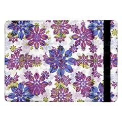 Stylized Floral Ornate Pattern Samsung Galaxy Tab Pro 12.2  Flip Case