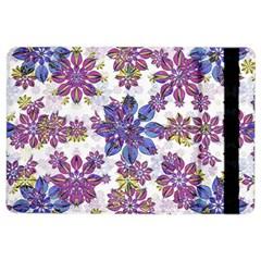 Stylized Floral Ornate Pattern iPad Air 2 Flip