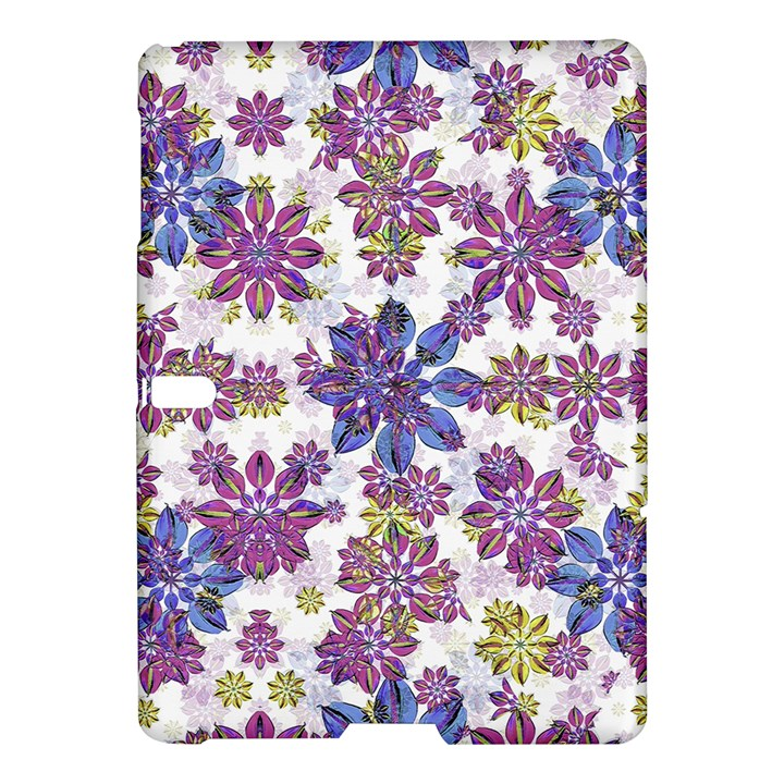 Stylized Floral Ornate Pattern Samsung Galaxy Tab S (10.5 ) Hardshell Case