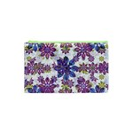 Stylized Floral Ornate Pattern Cosmetic Bag (XS) Front