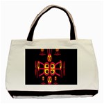 Alphabet Shirt R N R Basic Tote Bag (Two Sides) Back