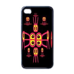 Alphabet Shirt R N R Apple Iphone 4 Case (black)
