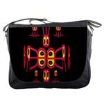 Alphabet Shirt R N R Messenger Bags