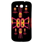 Alphabet Shirt R N R Samsung Galaxy S3 S III Classic Hardshell Back Case Front